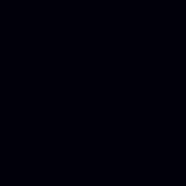 Glas unifarben Absolute Black