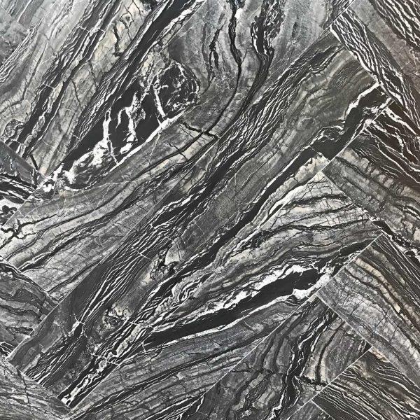 Woodstone Silver Wave Herringbone